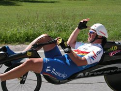 High speeds M5 Carbon Low Racer on EC Austria, Helmut Lechner European Champion Time Trial