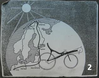 Ligfietsend met M5´s naar de Noordkaap: nu en twintig jaar geleden