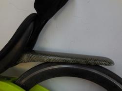 Hele lichte carbon/kevlar drager voor M5 CHR en M5 M-Racer ontwikkeld